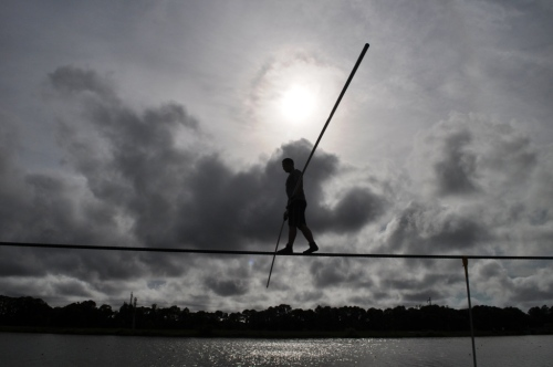 nik_wallenda_trains_for_june_23_2013_grand_canyon_walk_at_nathan_benderson_park_sarasota_fla-_june_7_2013