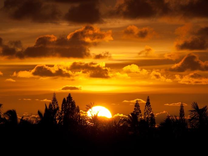 Sunrise, Kauai