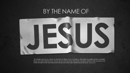 By The Name of Jesus