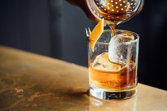 Liquid Drink Liquor Alcoholic Beverage Ice Glass