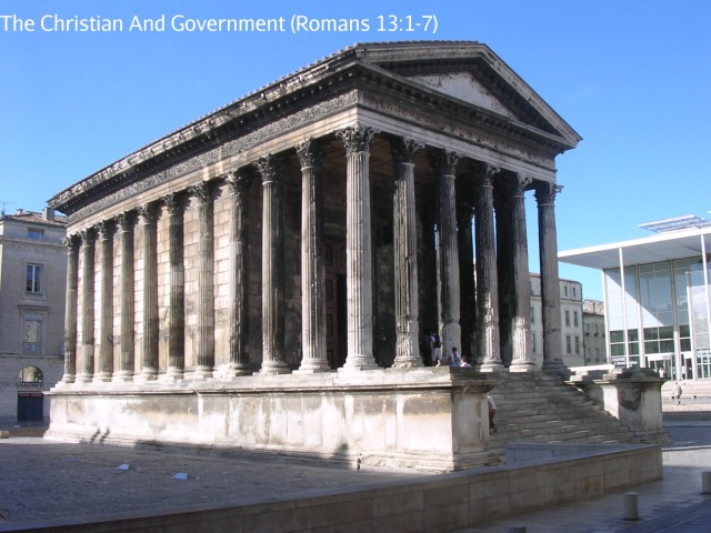 Maison Carrée, Temple of Rome and Augustus