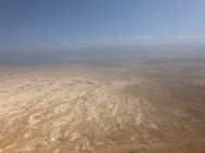 Looking across the Negev desert from the top of Masada (photo: Neal Pollard)