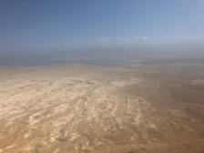 Looking across the Negev desert from the top of Masada (photo: Neal Pollard)