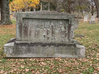 J.W. McGarvey's grave (Lexington Cemetery)