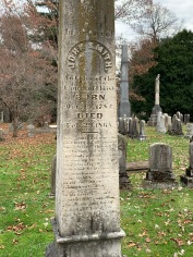 Raccoon John Smith's grave (Lexington Cemetery)
